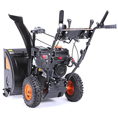 FUXTEC Benzin Schneefräse SF210 7,5 PS 230 Volt E-Starter Schneeräumgeräte - 2