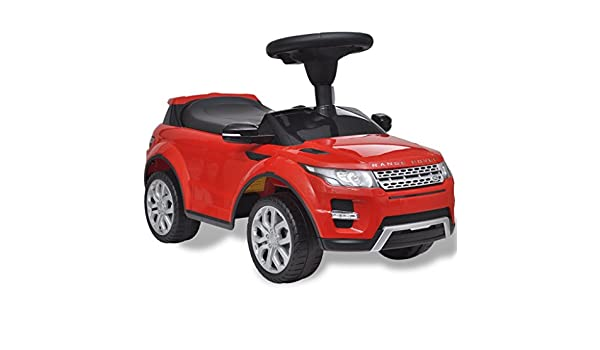 Ricco 348 Range Rover Evoque Licensed Ride On Push Along Sliding Toy Sports Racing Car