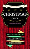 Image de A Christmas Carol: By Charles Dickens & Illustrated (An Audiobook Free!) (Englis