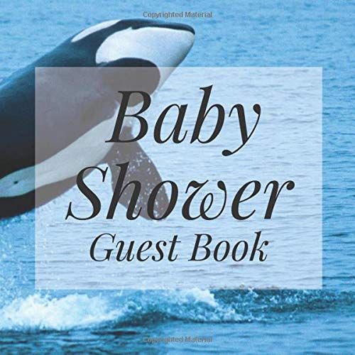 Killer Prop - Baby Shower Guest Book: Killer Whale