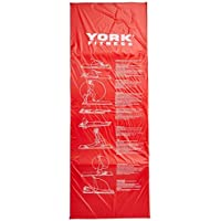 York Fitness - Colchoneta de entrenamiento (170 x 60 x 2 cm, acolchada)