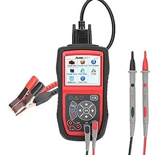 Autel Diagnosewerkzeuge Diagnosegerät OBDII Fehlercode Scanner, Auto Code Leser, Fahrzeug Code Reader Druck durch PC, unterstüzt Batterie-Tester, AL539B