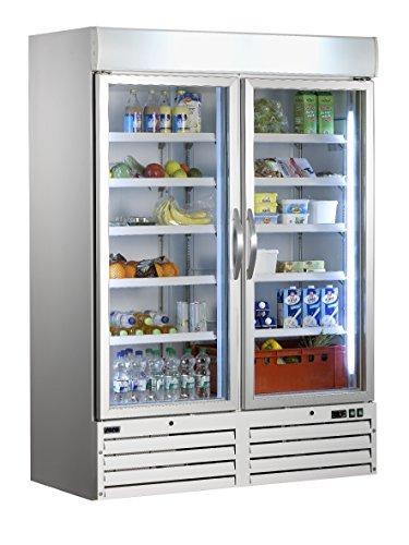 Saro 323-4165 G 920 Kühlschrank mit Umluftventilator, 1078 L, Weiß