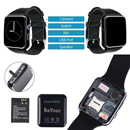 Handy Uhr Mit Sim Karte.Smartwatch Android Deyoun Bluetooth Smart Watch Handy Uhr Mit Kamera