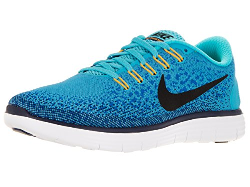 Nike Free Rn Distance, Chaussures de Running Entrainement Homme Bleu