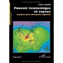 Pouvoir économique et espace : Analyses de la divergence régionale