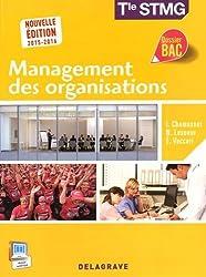 Management des organisations terminale STMG : Livre de l'élève