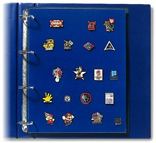 SAFE 5460 Ergänzungsblätter - 2 Stück -  im DIN A4 Format für das SAFE PREMIUM Album für Orden Nr. 7355 & SAFE 481 & 480 & 5100 & 4880 & Kelsche 5440  (Pin-album)