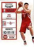 201011Dépasse de Correctifs de Assiettes et basket-ball carte # 40Yao Ming Houston Rockets dans une