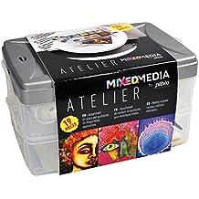 Pebeo Mixed Media Atelier Workbox (19 Pieces)
