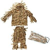 e12a7b3d665e6 JHKJ Outdoor Adulti Woodland Camouflage Abbigliamento Esercito Militare  Abbigliamento e Pantaloni per la Caccia alla Giungla