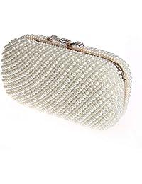 cfced0ac7c Nosterappou Borsa fatta a mano della perla, borsa squisita da sera piena  delle signore, piccola borsa, borsa di…