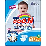GOO.N Baby Windeln Gr. M (6-11 kg) 64 Stück Premium Qualität Made in Japan