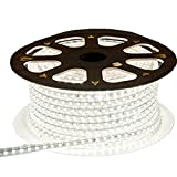 Viktion - 220V 10m SMD 5050 LED Ruban Bande Strip étanche flexible sécable 600 LEDs...
