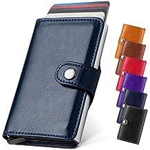 LunGear Portafoglio per Carte di Credito con Protezione RFID e Tasca  Banconote a2d82dc17c1