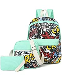 93ad48ca6f79 Valentine Gifts Stylish Combo - Backpack + Sling Bag + Pouch - Perfect  Travel Accessories -