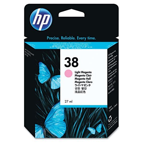 HP C9419A - 38 LIGHT MAGENTA INK CARTRID - F/ PHOTOSMART PRO B9180 - Hp Photosmart B9180