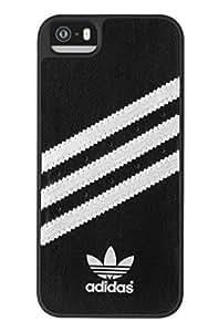 adidas 18397 Coque pour iPhone 5/5S Noir/Argent