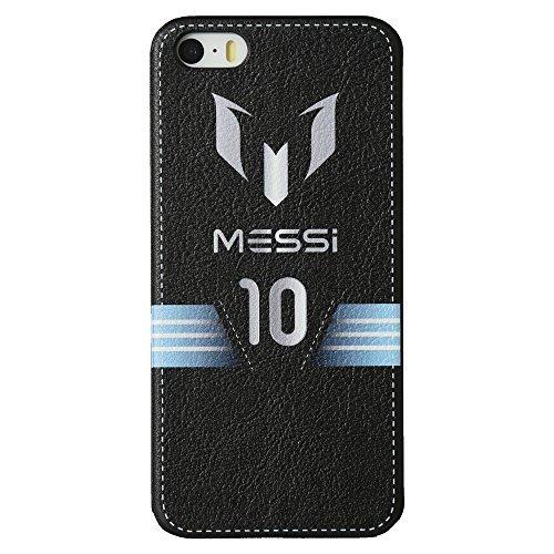 Von Mobile 5s Iphone Virgin (Messi Leather feel case für iPhone 5 / 5S)