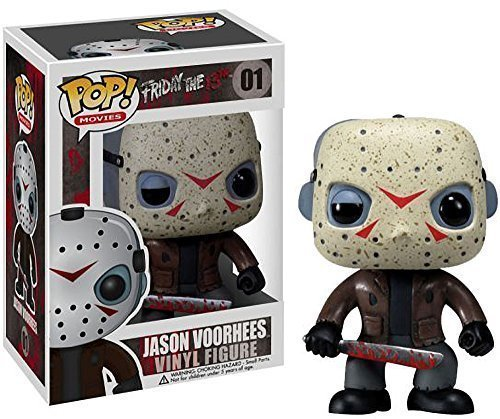 (Jason Voorhees: Funko POP! Horror Movies x Friday the 13th Vinyl Figure by Funko)