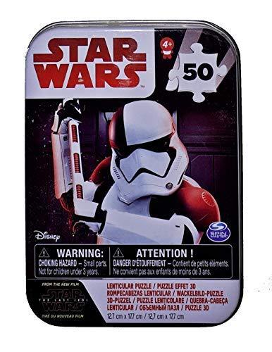 Spin Master 6038409Puzzle Star Wars 8episod Mini, Multicolour