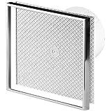 Cerámica de pared baño cocina de la baldosa campana extractora 125 mm de diámetro con temporizador y sensor de humedad