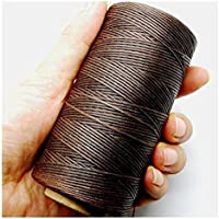 Romote Hilo en la Costura © e 150D 1mm Bolso marrón Oscuro 125g Cuero de Cuero Encerado ©