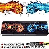 ckground Arcade-Videospielkonsole 1399 Retro-Spiele Pandora's Box 6s Arcade-Maschine 1280x720 Spielsystem Unterstützung PS3 PC TV 2 Spieler Arcade Joystick -