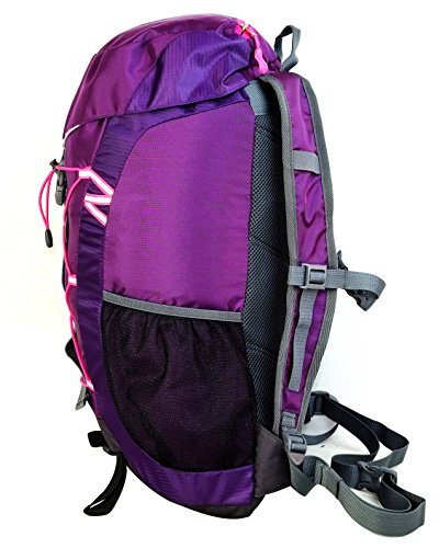 Terra Peak Rucksack Fusion, 30 x 10 cm, 32 Liter Purple/Dark Purple
