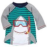 Mud Pie Baby Boy's Shark Rashguard (Infant/Toddler) - Green - Small