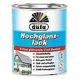 Düfa Hochglanzlack Brillant Gläzender Profi Buntlack Hochglänzend 2,5 L, Farbe (RAL):RAL 3000 Feuerrot
