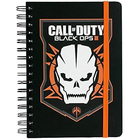 GB Eye Ltd, Call of Duty Black Ops 3, Logo, Cuaderno A5