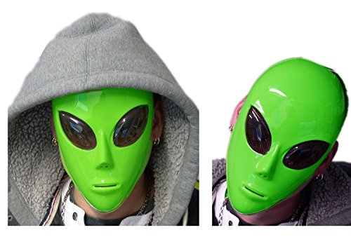 Nick and Ben Alien Maske We are here!
