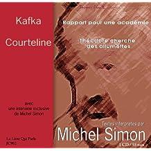 Michel Simon interprete kafka et courteline CD