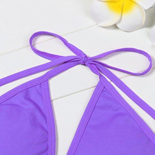 Ba Zha Swimwear -  Tankini  - Donna Purple