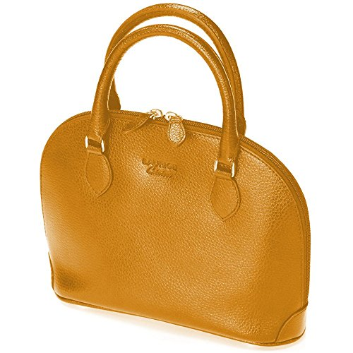 Mini sac New-york cuir Fabrication Luxe Française gold