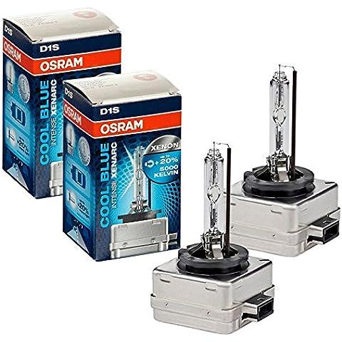 2x Original OSRAM D1S Xenarc Cool Blue Intense Xenon Burner 5000K 66144CBI 66144 35 Watt 20% More Light New Original