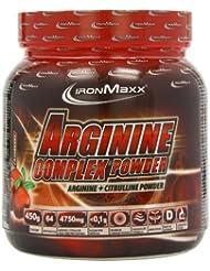 Ironmaxx Arginine Complex Powder Cranberry, 1er Pack (1 x 450 g)