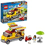 LEGO 60150 City Great Vehicles Pizza Van and Scooter Building Set with Chef and Pizza Chunks, Summer Holidays Toys for Kids