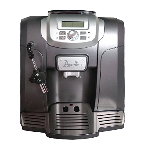 Acopino Ravenna Kaffeevollautomat und Espressomaschine, anthrazit
