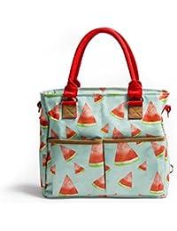 Baby Jalebi 'Margarita' Pocket Multi-Functional Diaper Bag With Maternity Handbag Changing Water-Proof Mat