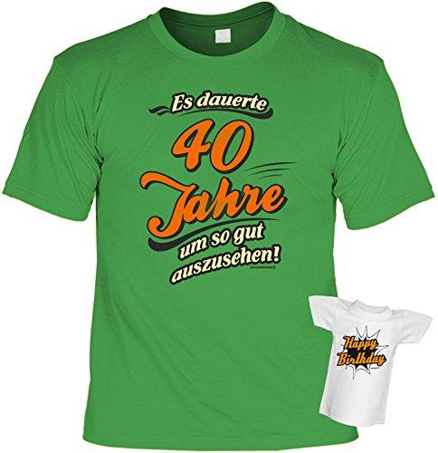 Lustiges T-Shirt zum 40. Geburtstag Es dauerte 40 Jahre um so gut
