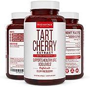 Tart Cherry Extract 1500mg Plus Celery Seed and Bilberry Extract -Anti Inflammatory, Antioxidant Supplement, U