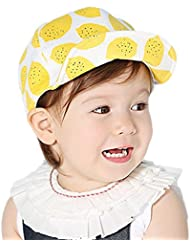 Leisial Niños Gorras de Béisbol Sombrero de Sol con Algodón Gorro de Borde Suave Protector Solar Primavera Verano para Unisex Bebé,Gris oscuro