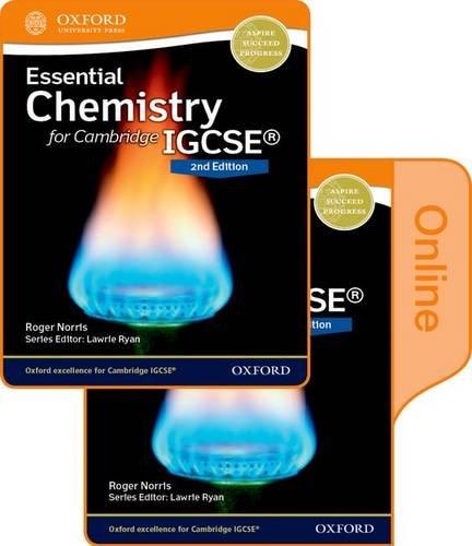 Essential chemistry for Cambridge IGCSE. Student's book. Per le Scuole superiori. Con espansione online (Igcse Sciences)
