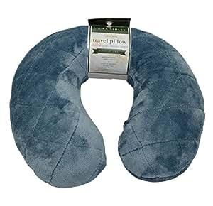 Laura Ashley Blue Travel Pillow