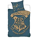 Harry Potter Hogwarts duvet cover bed