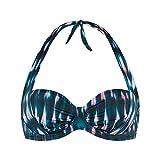 Cyell Damen Bikinioberteil Jewel, Mehrfarbig (Santorini 662), 44 (Herstellergröße: D44)