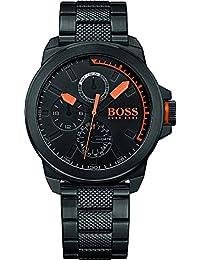 BOSS Orange Herren-Armbanduhr NEW YORK Multi Analog Quarz Edelstahl beschichtet 1513157
