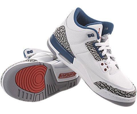 Nike , Herren Schnürhalbschuhe White / True Blue